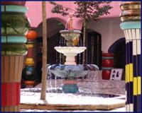 Fontaine de la CITADELLE VERTE DE MAGDEBURG