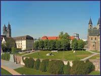 Panorama Magdeburg �Bohna