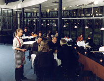 Restaurant im InterCity Hotel