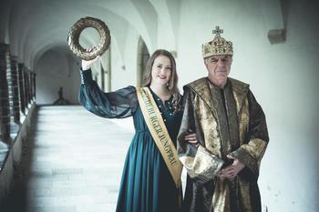 Magdeburger Jungfrau und Kaiser Otto I.
