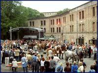 Sommerfest in der Festung Mark