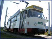 Straßenbahn des Malwettbewerbs, ©MVB