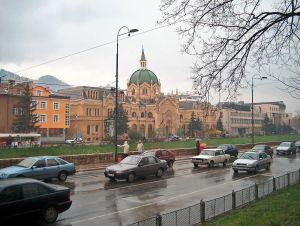 Pulsierendes Leben in Sarajevo