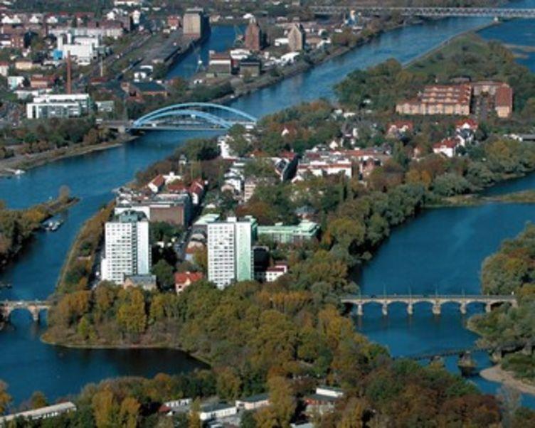 Luftbild Werder