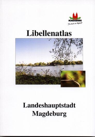 Im Hintergrundbild ist die Elbe abgebildet. Rechts unten befindet sich ein kleines Bild mit einer Libelle.
