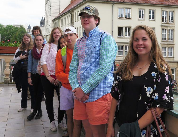 Schülergruppe Nashville Juni 2015