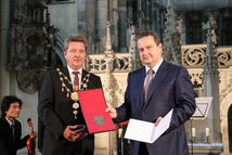 Dr. Lutz Tr�mper und  Ivica Dacic