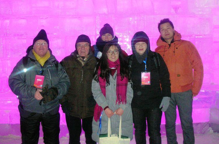 Harbin Eis- und Schneefestival 2016_Reisedelegation