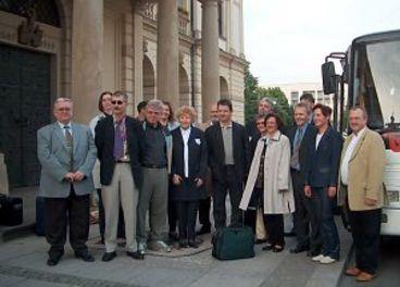 Gruppenfoto von der Abreise nach Nashville
