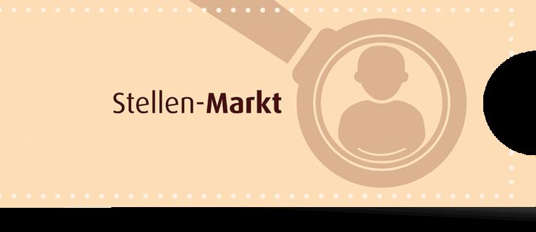 Externer Link: Button Stellenmarkt