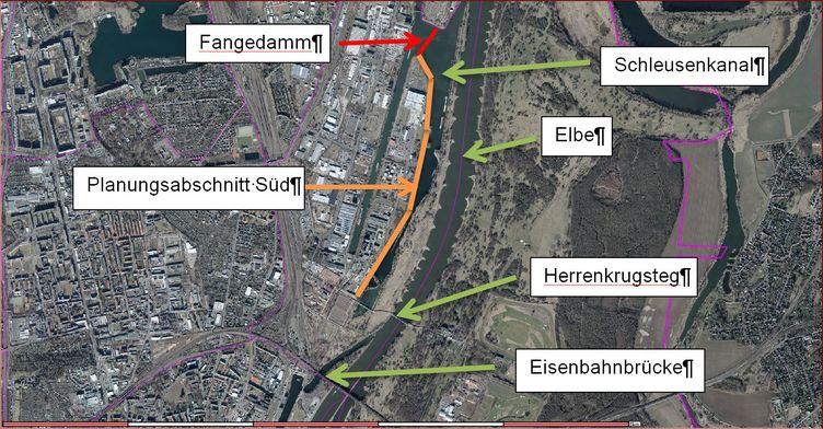 Hochwasserschutz im Bereich Rothensee