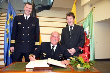 Korvette MAGDEBURG Begründung der Patenschaft 2. Sept. 2006