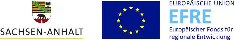 Externer Link: Logo Land Sachsen-Anhalt/Europäische Union