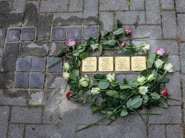 Verlegung von Stolpersteinen in der Landeshauptstadt Magdeburg (Archivfoto)