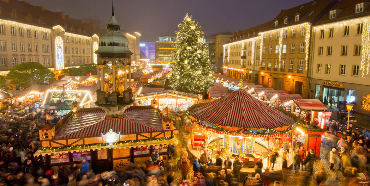 otto liebt den weihnachtsmarkt
