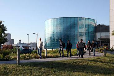 Das VDTC des Fraunhofer IFF im Wissenschaftshafen