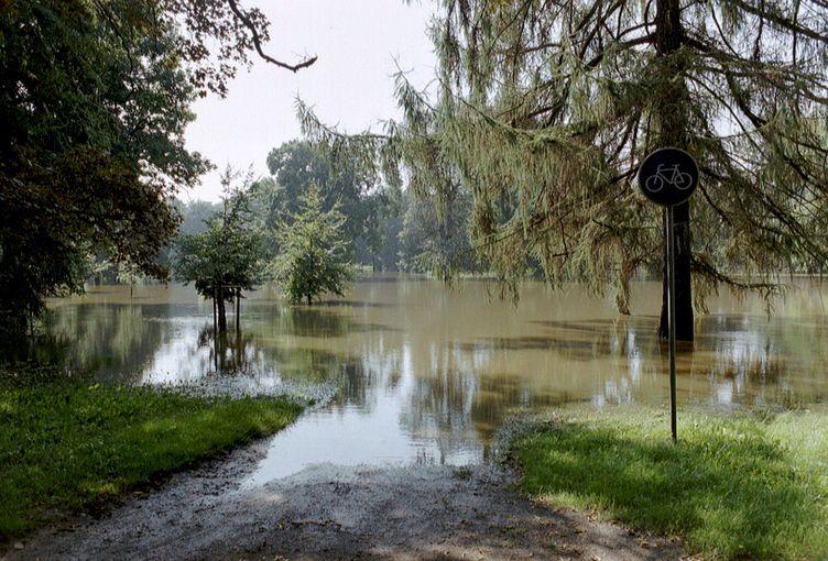 """Rückblick aufs Hochwasser 2002 - OB Trümper: """"Wir sind bei ..."""