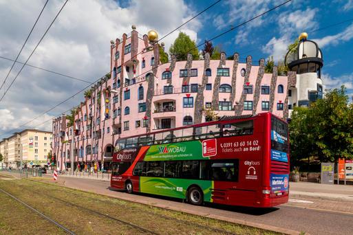 Stadtf�hrungen durch Magdeburg