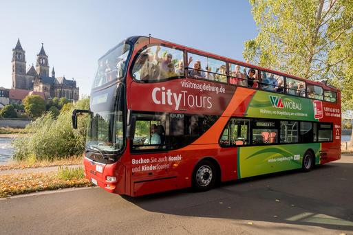 Interner Link: Stadtrundfahrt im Doppeldecker-Bus - 2 h