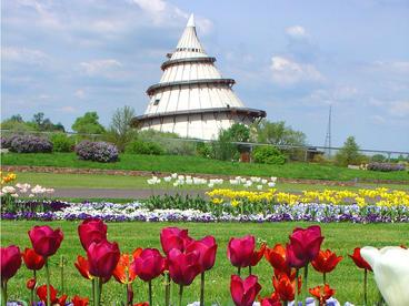 Interner Link: Lernort Jahrtausendturm im Elbauenpark