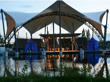 Seebühne im Elbauenpark © MVGM GmbH