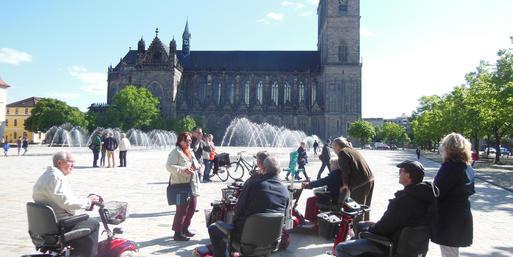 Interner Link: Stadtführung mit Elektromobilen