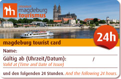 Interner Link: Magdeburg Tourist Card