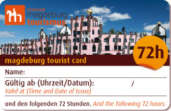Tourist Card 72 Stunden
