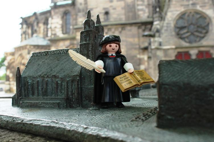 Luther Playmobil ©Hotel Ratswaage MD