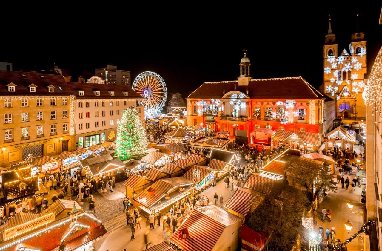 Weihnachtsmarkt Eröffnung 2019.Touristische Informationen über Magdeburg