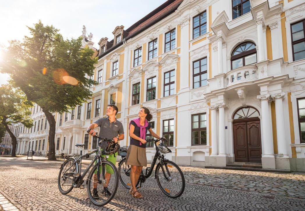 Interner Link: Fahrrad-Architektour »Das bunte Magdeburg«