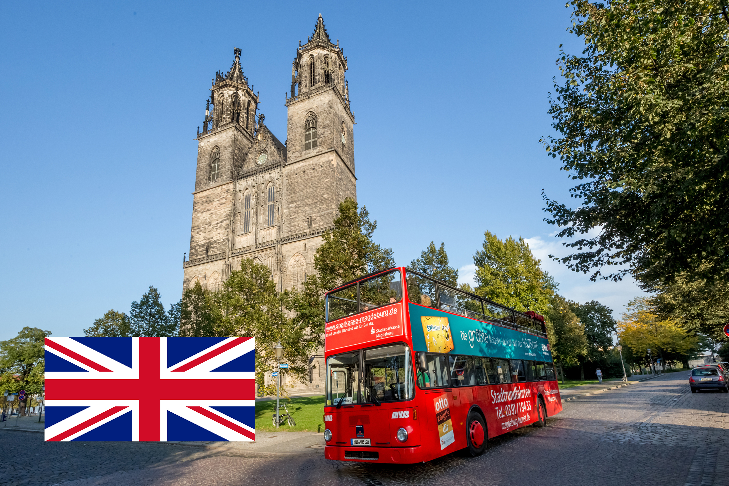 Combination Guided Bus and Guided Tour of the Magdeburg Cathedral