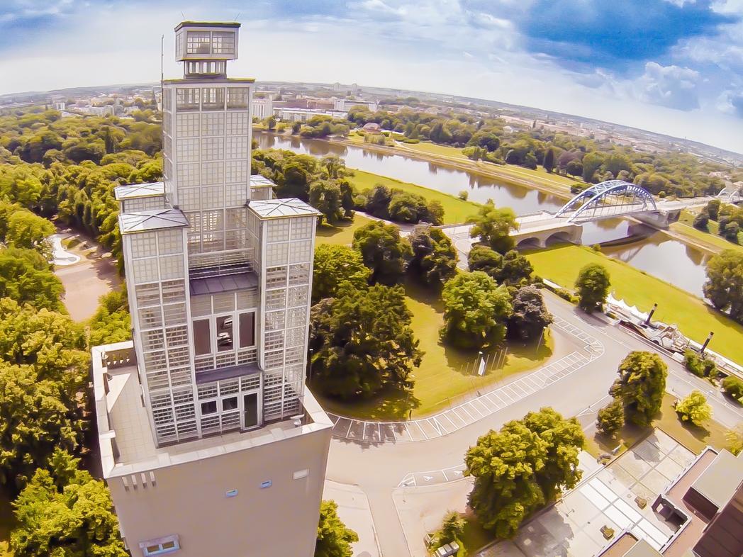 1. Albinmüller-Turm, erbaut:1927
