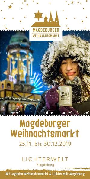 Weihnachtsmarkt-Flyer