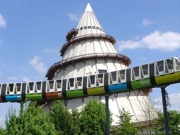Panoramabahn im Elbauenpark © MVGM GmbH