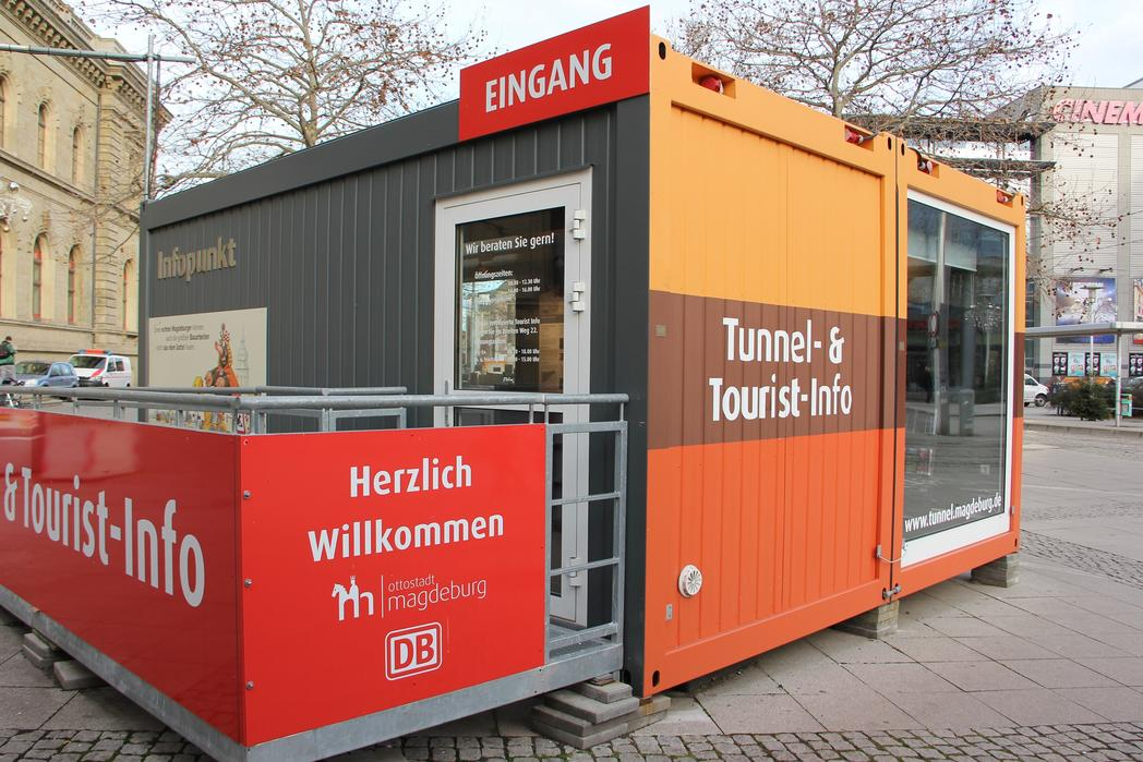 Neue Tourist-Info am Hauptbahnhof©Magdeburg Marketing