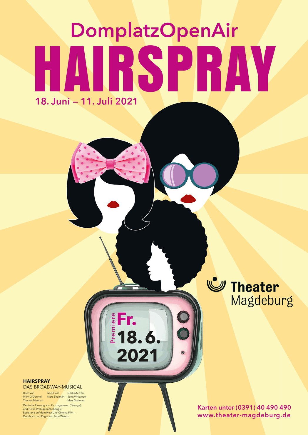 Hairspray ©Theater Magdeburg