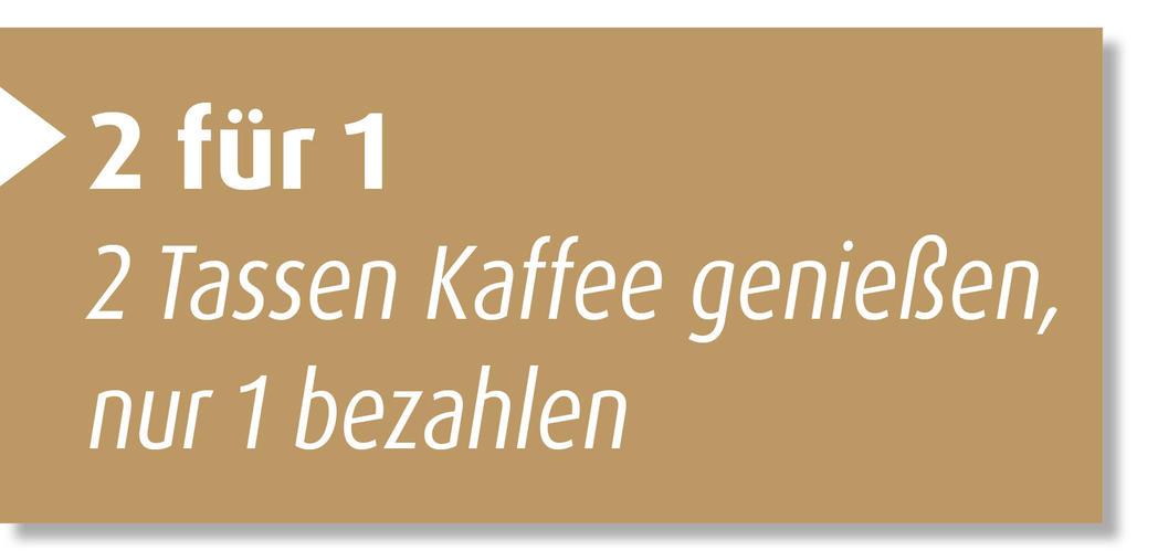 Ermäßigung Kaffeehaus Köhler