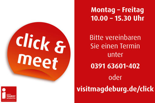 Click & Meet in der Tourist Information