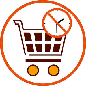 terminlos Einkaufen