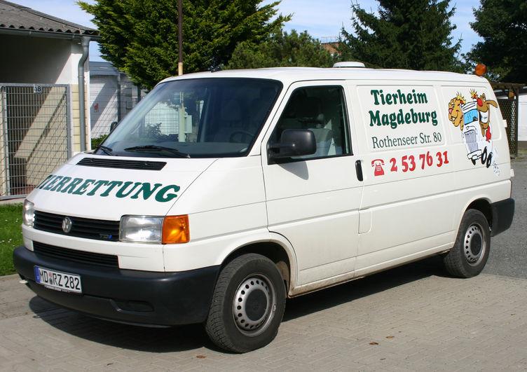 Fahrzeug Tierheim