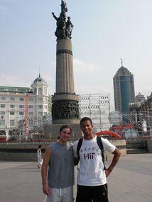 Harbin Zentrum Monument