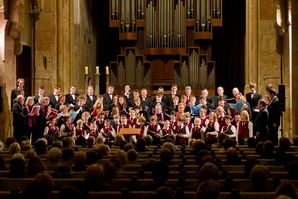 Chor Entasis aus Le Havre und Magdeburger Knabenchor