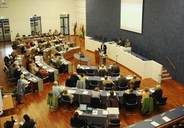 Magdeburger Seniorenforum 2010, Plenum von oben