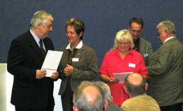 Magdeburger Seniorenforum 2010, Übergabe der Beschlüsse