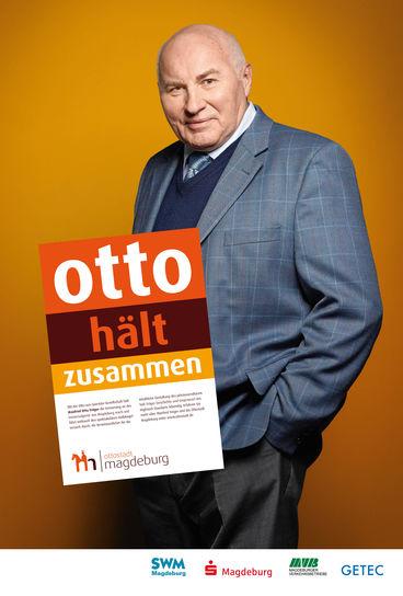 Ottostadt Kampagnenmotiv Tröger