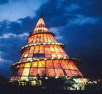 Kongressanbieter: Jahrtausendturm im Elbauenpark