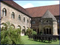 Kreuzgang im Kloster