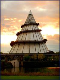 Jahrtausendturm im Elbauenpark, ©HL Böhme