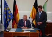 Partnerschaftsvertrag Magdeburg und Saporoshje